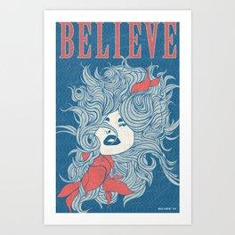 Art Poster - Believe Art Print