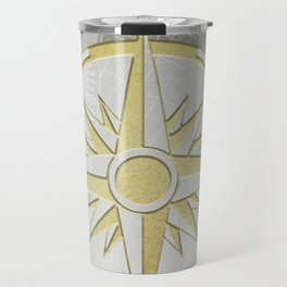 New York City Vintage Location Design Travel Mug