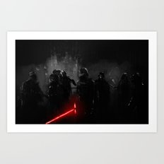 Knights of Ren Art Print