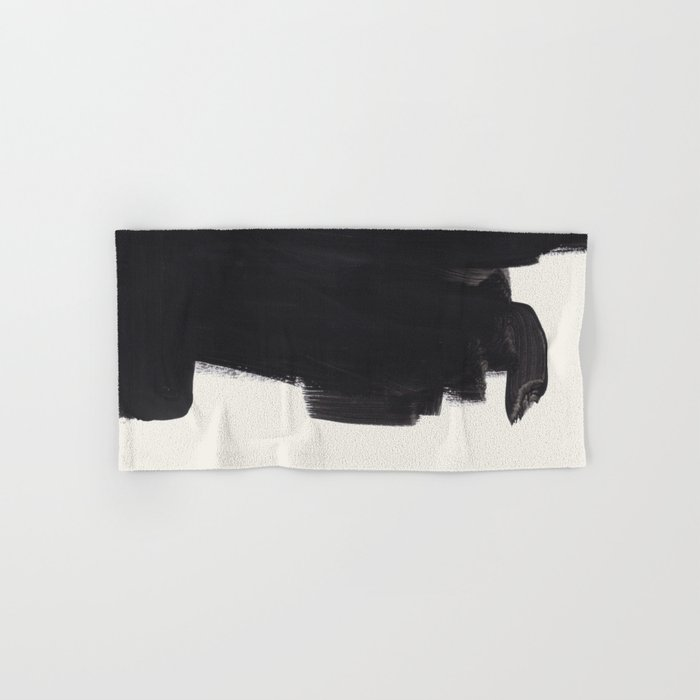 Black And White Mid Century Modern Art