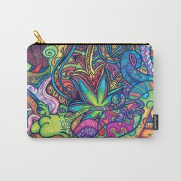 Trippy Weed Carry-All Pouch