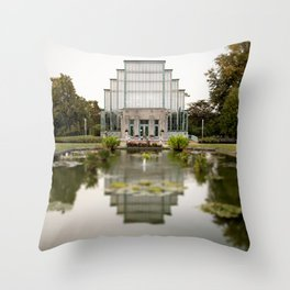 St. Louis Forest Park Jewel Box Throw Pillow