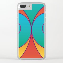 Swirly pretty thingies of goodness Clear iPhone Case