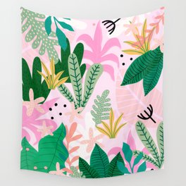 Into the jungle - sunup Wall Tapestry