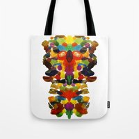 totem Tote Bags featuring totem! by gasponce