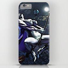Cartoon Sexy Witch, Halloween Slim Case iPhone 6s Plus