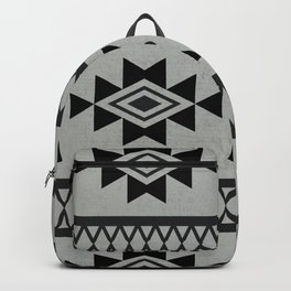 Abstract Tribal Native Geometric Pattern Backpack