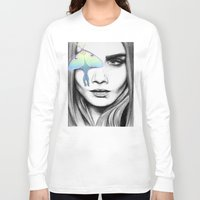 luna lovegood Long Sleeve T-shirts featuring Luna by aubreylynna