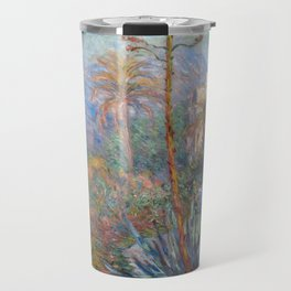 Claude Monet - Villas at Bordighera Travel Mug