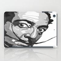 salvador dali iPad Cases featuring Salvador Dali by Frankie Luna III