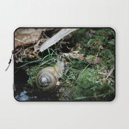 A Snail's Home Laptop Sleeve