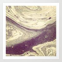 Crater Art Print