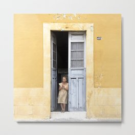 The Doors of Merida XI Metal Print