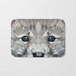 Baby wolf color blocking Bath Mat