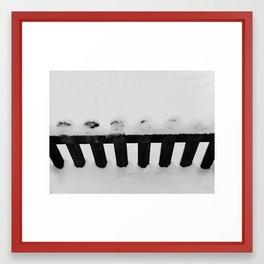 chamonix - france - mathéo Framed Art Print