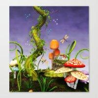 fairytale Canvas Prints featuring fairytale by Ancello