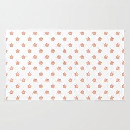 Polka Flower Spring Dots Rug