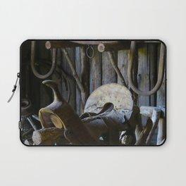 Rustic Saddle Laptop Sleeve