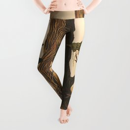 The Ancient Heart Tree Leggings