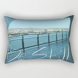 be still at work time Rectangular Pillow
