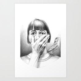 fall apart Art Print