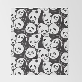 Pandamic Throw Blanket