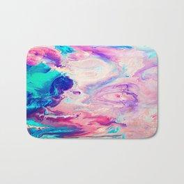 Ice Paint Bath Mat