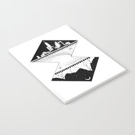 City by the Mountains Notebook