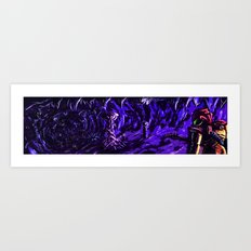 Metroid Metal: The Brood Art Print