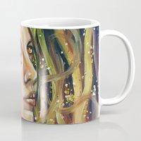phoenix Mugs featuring phoenix by Beth Jorgensen