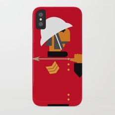 The man who would be king iPhone X Slim Case