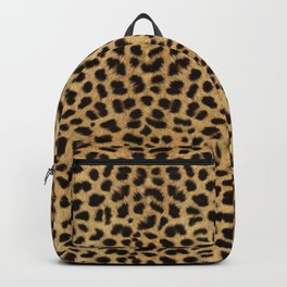 Cheetah Print Backpack
