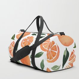 Summer oranges Duffle Bag