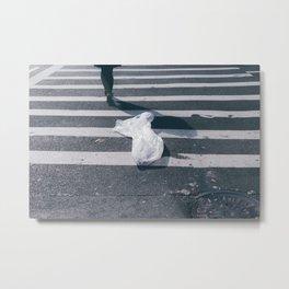 pedestrian Metal Print