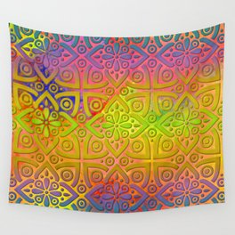 DP050-4 Colorful Moroccan pattern Wall Tapestry