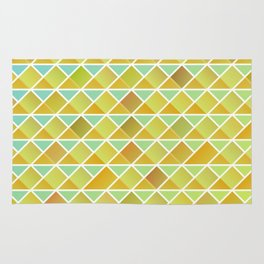 Tiny triangles pattern Rug