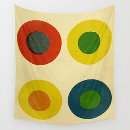 Contrast Circles Wall Tapestry