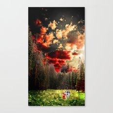 THE REAL STORY OF THE LITTLE RED RIDING HOOD Canvas Print