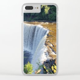 Michigan Falls Clear iPhone Case