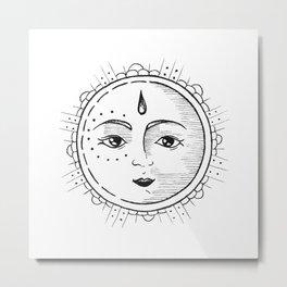 Le Soleil Metal Print