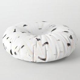 birch horizontal Floor Pillow