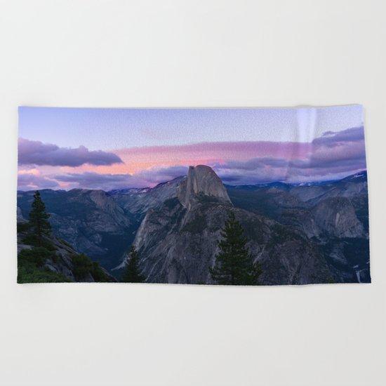 Yosemite National park #society6 Beach Towel