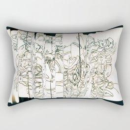 Autistic Remix #003 Rectangular Pillow