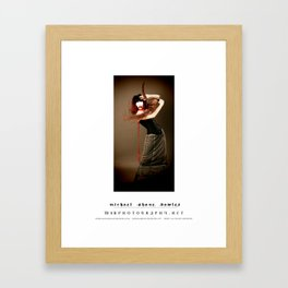 dark things 3 Framed Art Print