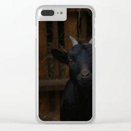 Goat Clear iPhone Case