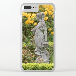 The Gardener Clear iPhone Case