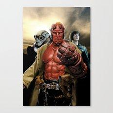 Power In Three Canvas Print