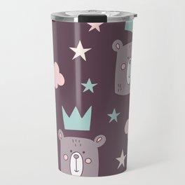 Lovely Star Pattern Travel Mug