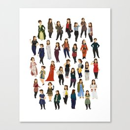 Every Clara Outfit Ever | S8 Canvas Print