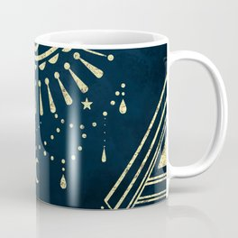 Eye Midnight Gold Coffee Mug